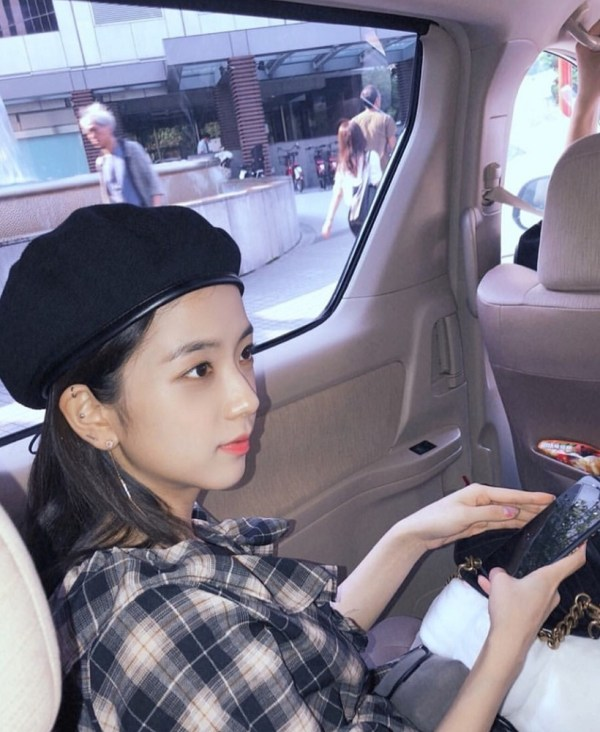 Black Beret Hat | Jisoo -BlackPink