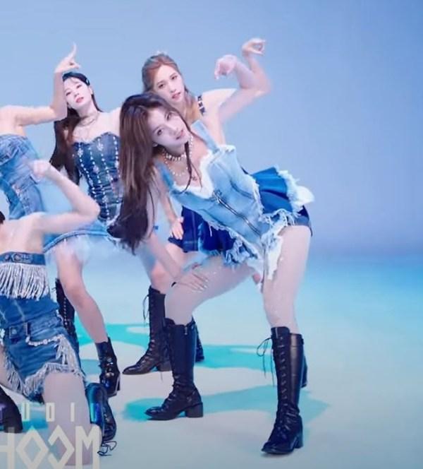 Sexy Denim Top | Sana – Twice