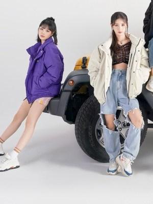 Pink Plaid A-Line Skirt | Soojin – (G)I-DLE