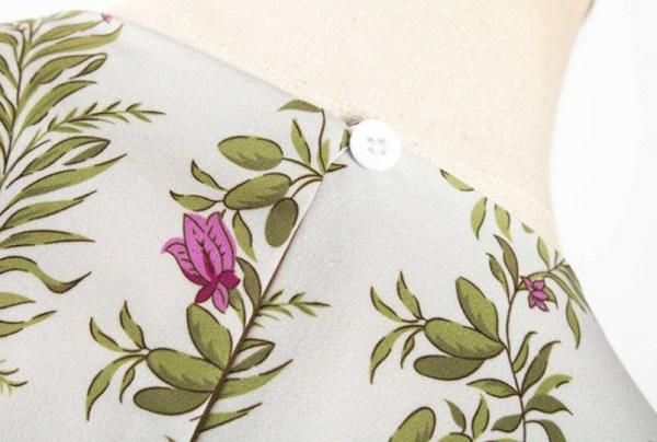 Lilac Flowers Patterned Dress | Yoon Se Ri – Crash Landing On You