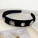 Snowflake Velvet Headband    IU – Hotel Del Luna