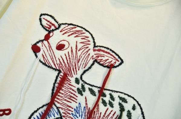 Cute Animal Embroidered T-Shirt | J-hope – BTS