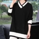Oversized V-Neck Sweater | Jin – BTS