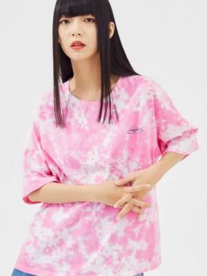 Jinyoung Pink Tie Dye T-Shirt (3)