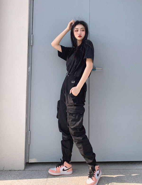 Black Jogger Pants  | Rose – BlackPink