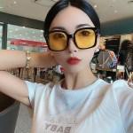 Yellow Tinted Sunglasses | Suga – BTS