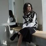 Bear Patterned Knit Vest   Yuqi – (G)I-DLE