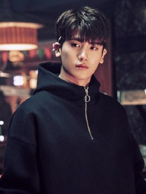 Black Hoodie With Zipper | Ahn Min Hyuk – Strong Woman Do Bong Soon