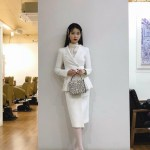 White Pleated Coat | IU – Hotel Del Luna