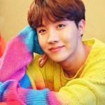 Three Colored Lovely Sweater | J-Hope – BTS