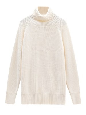 Jennie – BlackPink Knitted Turtle Neck Sweater (6)