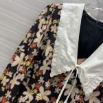 Vintage Floral Mini Dress | Mina -Twice