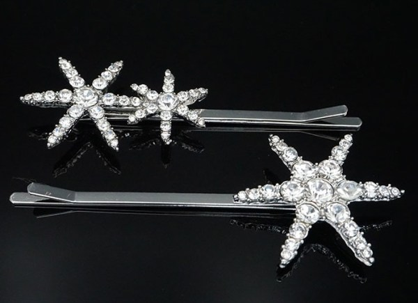 Star Shaped Crystal Studded Hairpin | Seo Dan – Crash Landing On You