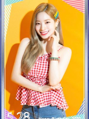 Sleeveless Red Checkered Top | Dahyun – Twice