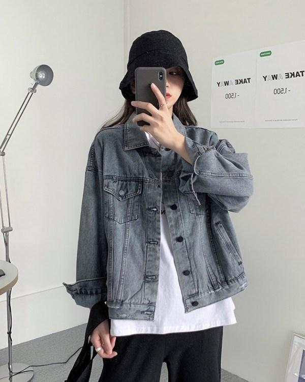 Faded Grey Denim Jacket | Han Seo Jun – True Beauty