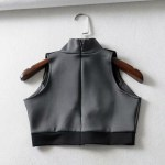 Cut-Out Chest Cropped Top   Jennie – BlackPink