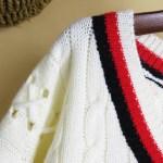 Hollow Knitted X Strings Sweater | Joshua – Seventeen
