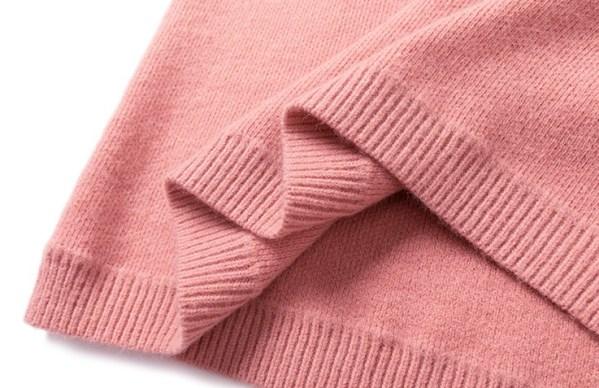 Pink Oversized Sweater With Collar | Joy – Red Velvet