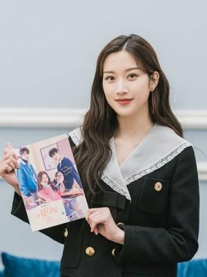 Black Navy Collared Jacket | Lim Joo Kyung – True Beauty