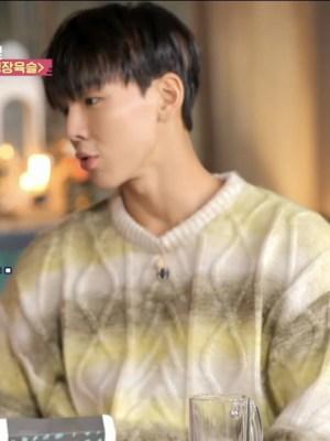 Yellow Gradient Mohair Sweater | Shownu – MONSTA X