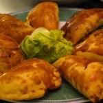 Empanadas de carne (viande) et de cebollas (oignons)