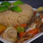 Tiep bou dien (riz au poisson, plat national sénégalais)