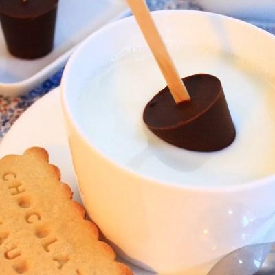 Sucettes au chocolat à fondre