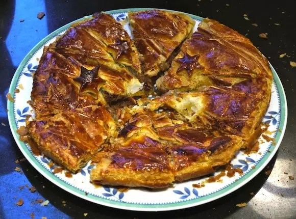 galette poires carambars epiphanie