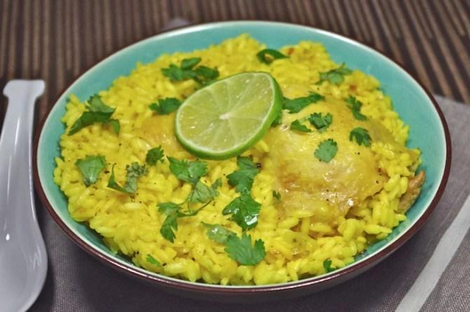 riz tita poulet gingembre curcuma citron vert