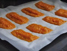 chips mimolette carotte micro-ondes 10mn