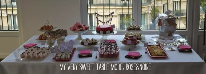 Sweet-table-mode-rose-noir