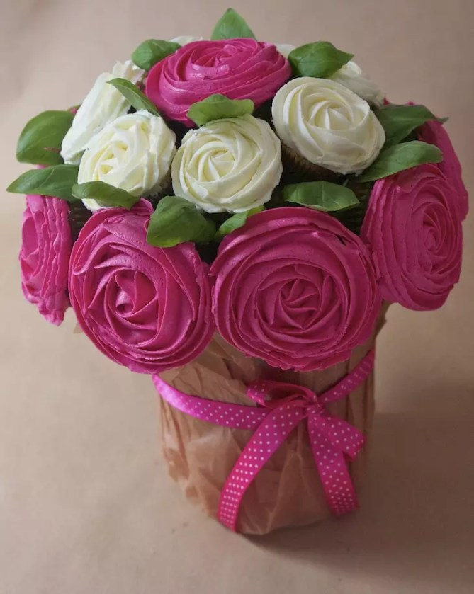 cupcakes-bouquet-roses