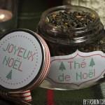 Thé de Noël maison