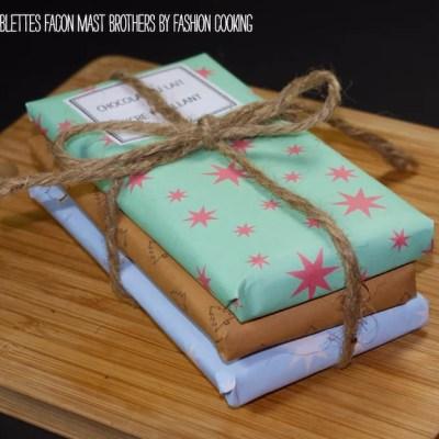 DIY Tablettes de chocolat maison comme les Mast brothers