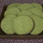sables diamant the vert matcha 150x150 Recettes de Noël, de fêtes et cadeaux gourmands
