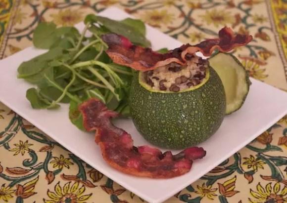 courgettes-farcies-quinoa-chevre-pancetta