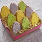Sablés œufs de Pâques (décoration en glaçage royal)