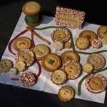 sables boite boutons 150x150 Recettes de Noël, de fêtes et cadeaux gourmands