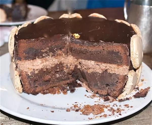 Gateau chocolat praline