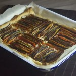 tarte tian graphique legumes chevre 150x150 Recettes de Noël, de fêtes et cadeaux gourmands