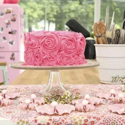 Le gâteau damier tricolore
