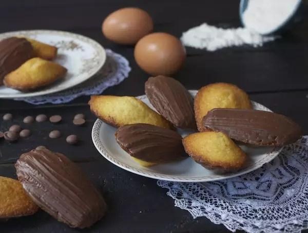 madeleines vanille chocolat bonne maman Bonne maman, le choc et la bosse Madeleines vanille au chocolat