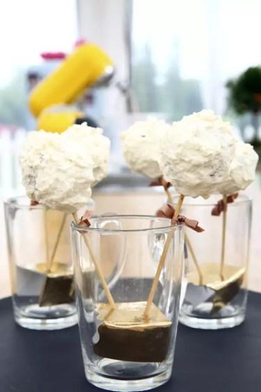 cake pops mont blanc Le Meilleur Pâtissier Semaine 8 – Le Mont Blanc