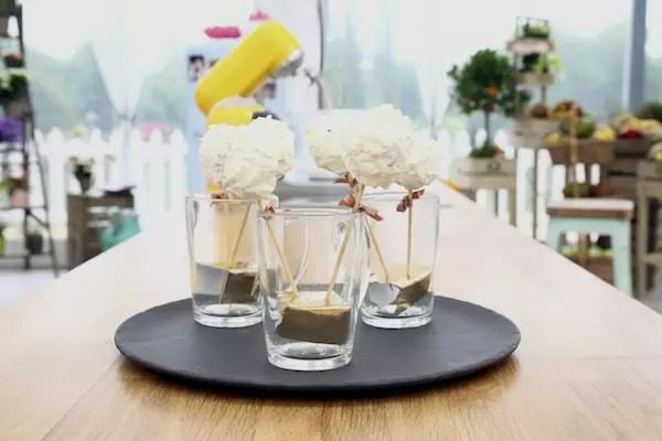mont blanc cake pops Le Meilleur Pâtissier Semaine 8 – Le Mont Blanc