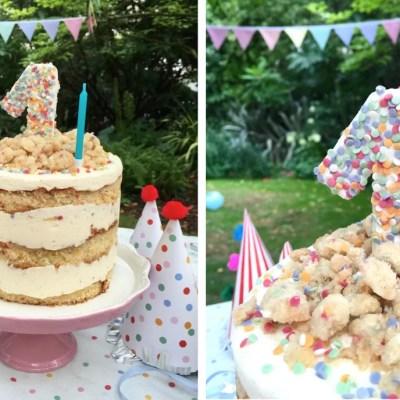 Cake topper en sprinkles