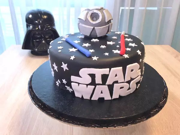 Gâteau Star Wars Fashion Cooking