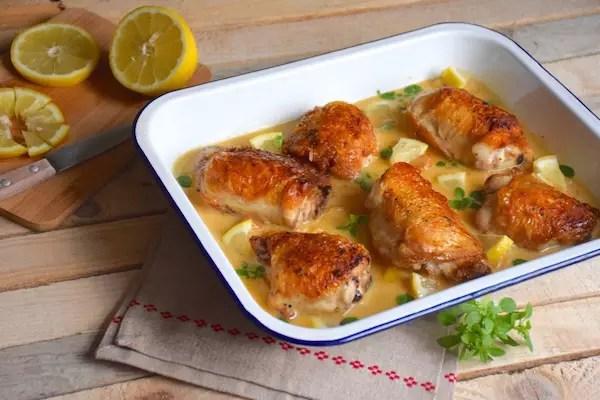 poulet-creme-citron-ail
