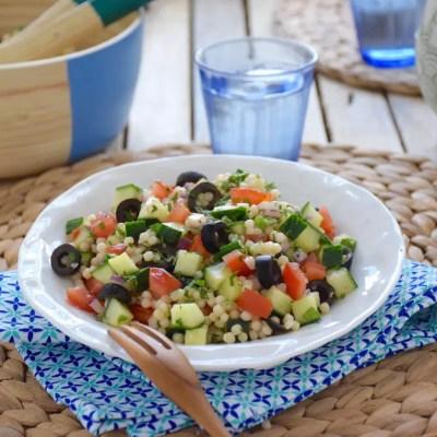 Taboulé de couscous israélien