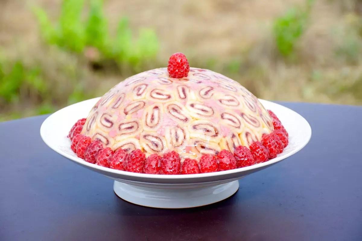 Charlotte royale cake