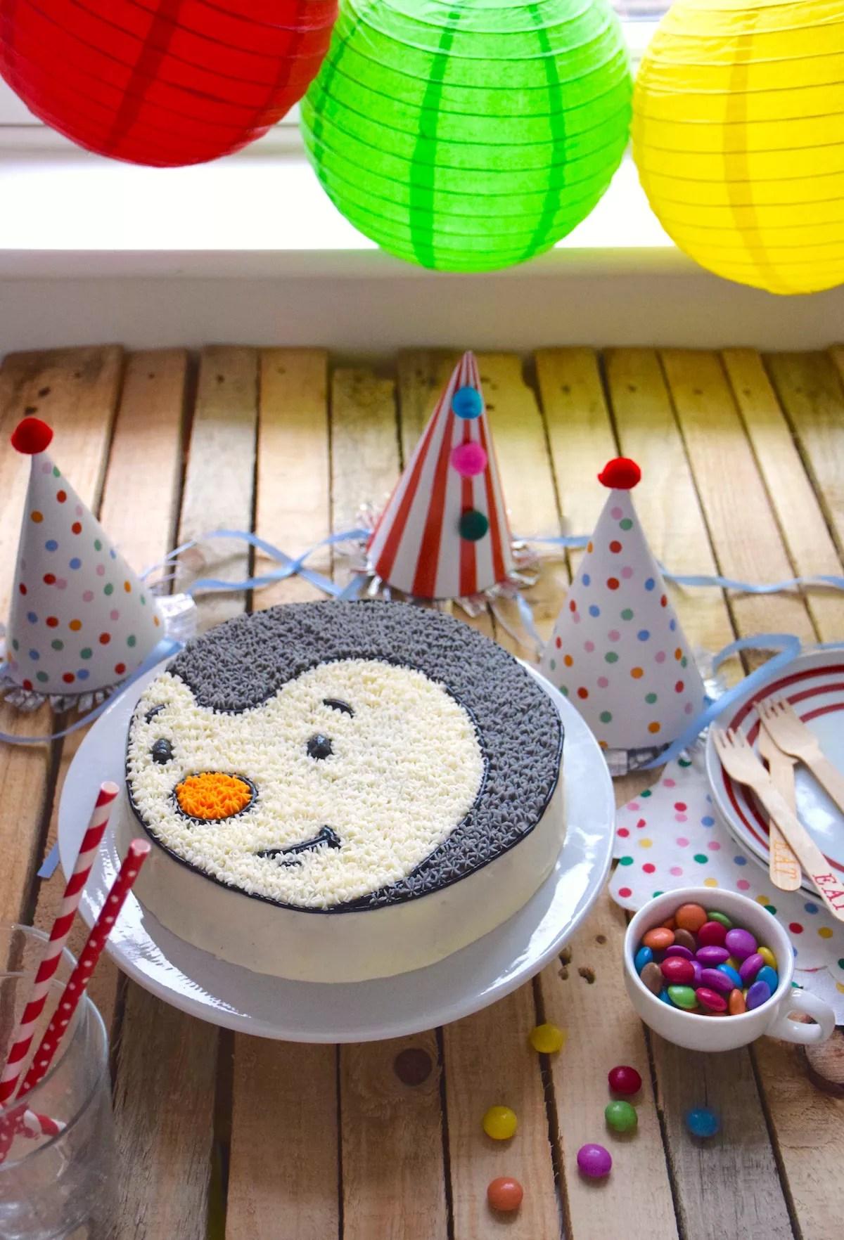 Gâteau tête de T'choupi